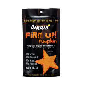 Diggin your Dog Treats Firm Up Pumpkin