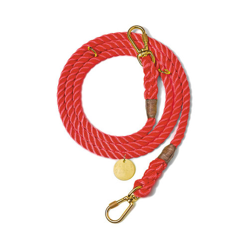 Found My Animal Rope Leash Synthetic Red