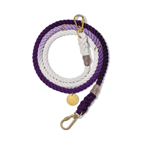 Found My Animal Rope Leash Purple Ombre