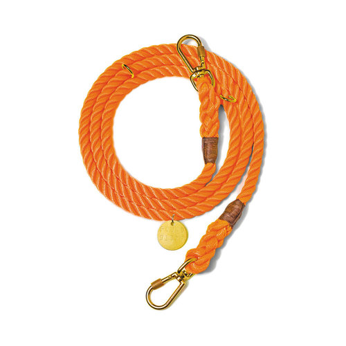 Found My Animal Rope Leash Orange