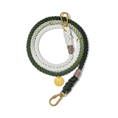 Found My Animal Rope Leash Olive Ombre
