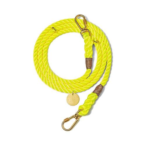Found My Animal Rope Leash Neon Yellow