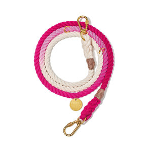Found My Animal Rope Leash Magenta Ombre