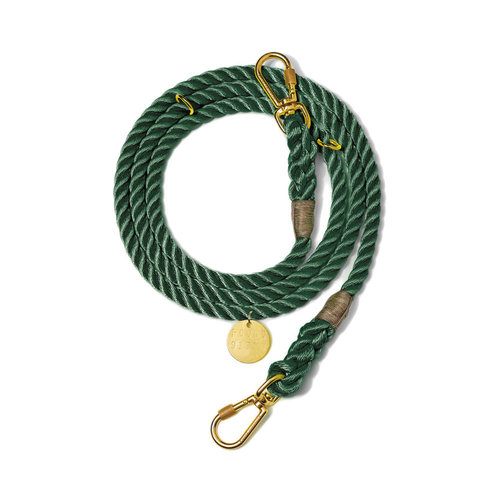 Found My Animal Rope Leash Hunter Green