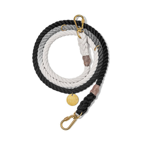 Found My Animal Rope Leash Black Ombre