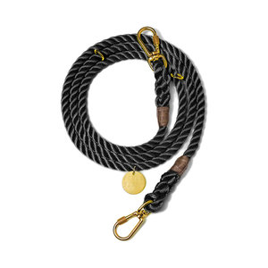 Found My Animal Rope Leash Black