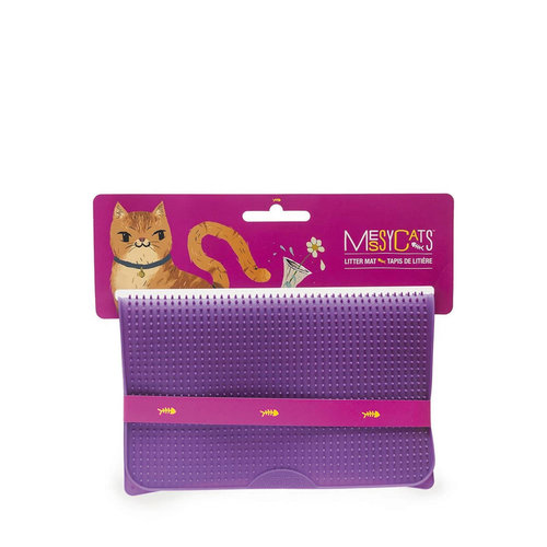 Messy Mutts Cat Silicone Litter Mat