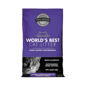World's Best Litter Cat Litter Lavender