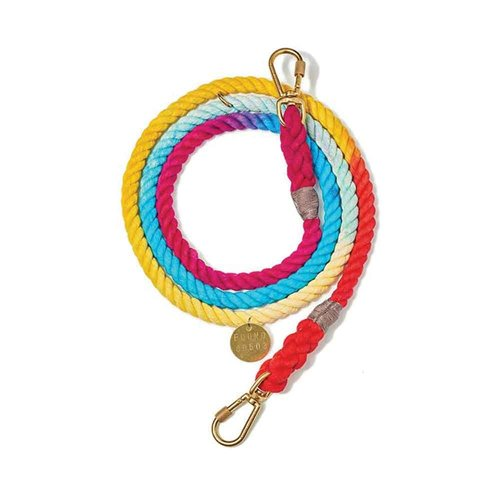 Found My Animal Rope Leash Rainbow Ombre