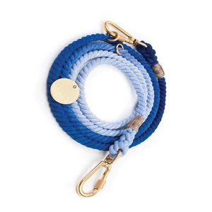 Found My Animal Rope Leash Blue Ombre