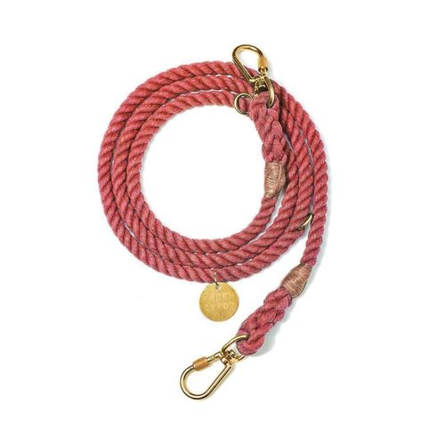 Found My Animal Rope Leash Red Upcycled