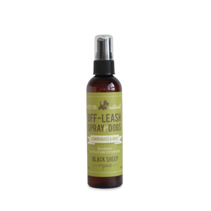 Black Sheep Organics Lemongrass & Mint Off-leash Bug Spray 4oz