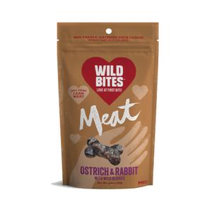 Wild Bites Ostrich and Rabbit Meat 120g
