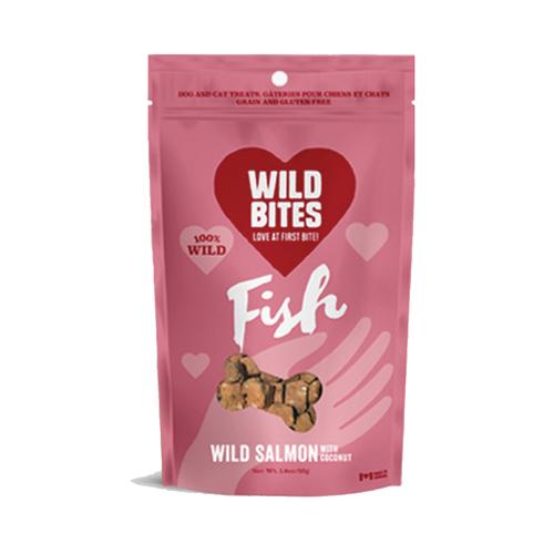 Wild Bites Salmon Coconut 50g