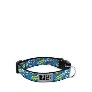 RC Pets Clip Collar Comic Blue
