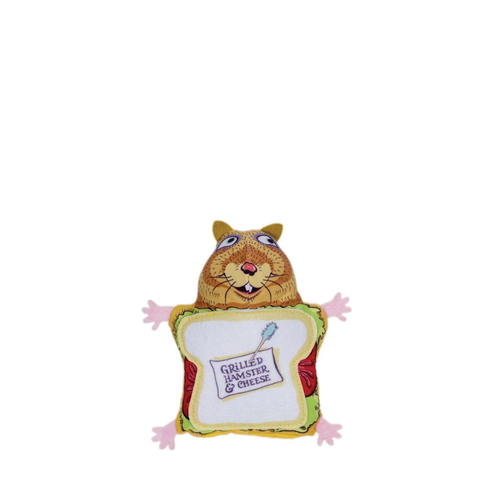 Fuzzu Grilled Hamster Cat Toy