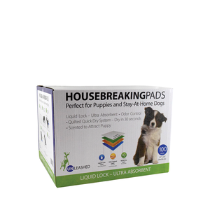 Unleashed Housebreaking Pee Pads 100ct