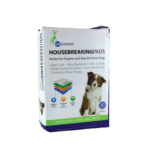 Unleashed Housebreaking Pee Pads 50ct