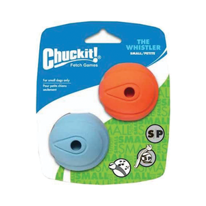 Chuckit Whistler Ball Small 2 pack