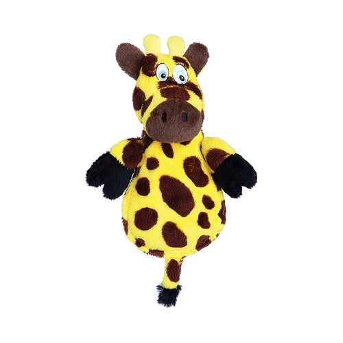 GoDog Hear Doggy Flat Giraffe Chewguard Toy