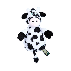 GoDog Hear Doggy Flat Cow Chewguard Toy