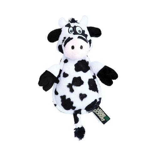 GoDog Hear Doggy Flat Cow Chewguard Toy