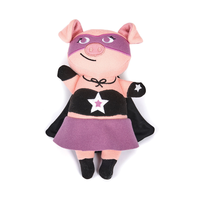 Woolie Jelly Roll Pig Toy