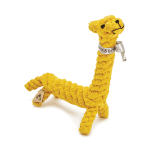 Jax & Bones Rope Toy Jerry the Giraffe Large