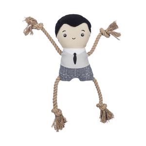 Jax & Bones Canvas Dog Toy Dad