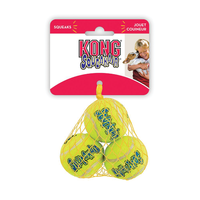 AirDog Tennis Squeaker Balls Small 3 pack