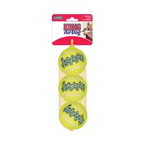 Kong AirDog Tennis Squeaker Balls Medium 3 pack