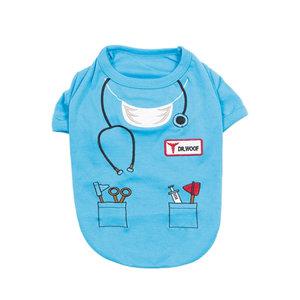 Parisian Pet T-Shirt Halloween Dr Woof