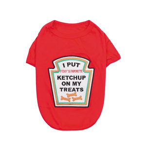Parisian Pet T-Shirt Halloween Ketchup