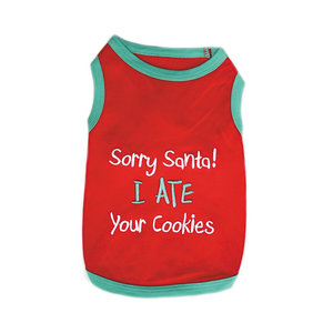 Parisian Pet T-Shirt Christmas Your Cookies