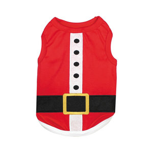 Parisian Pet T-Shirt Christmas Santas Outfit