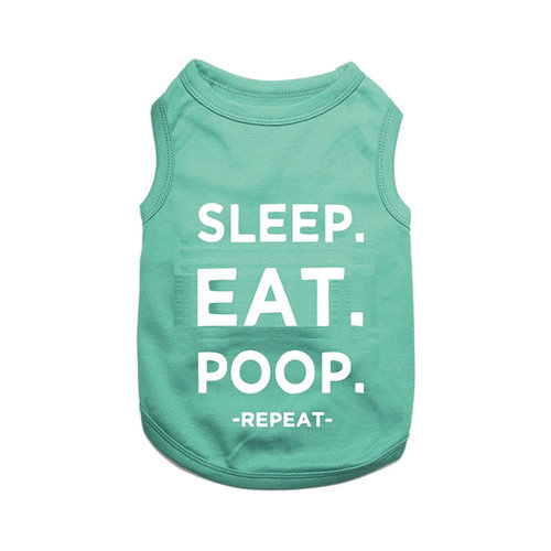 Parisian Pet T-Shirt Sleep Eat Poop