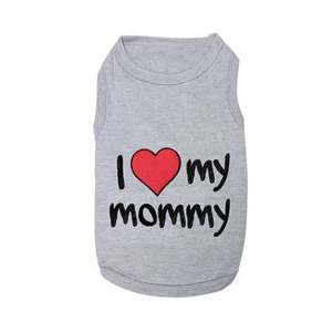 Parisian Pet T-Shirt I Love Mommy