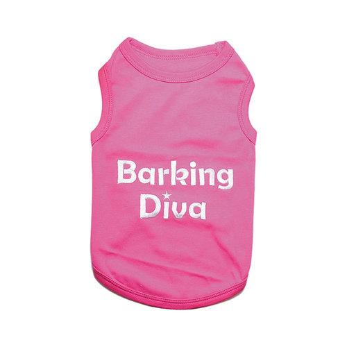 Parisian Pet T-Shirt Barking Diva
