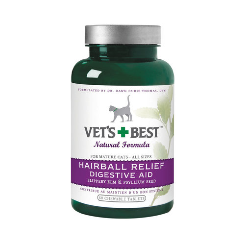 Vets Best Hairball Relief Tabs 60 Tab