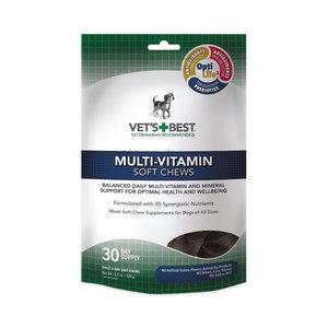 Vets Best Dog Multi-Vitamins Soft Chews 30ct