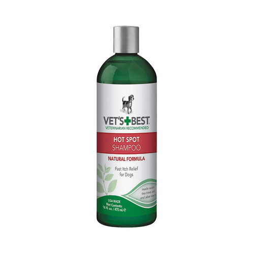Vets Best Dog Hot Spot Shampoo 16oz