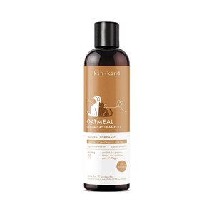 Kin+Kind Shampo Oatmeal Dog & Cat Sensitive Shampoo 12oz