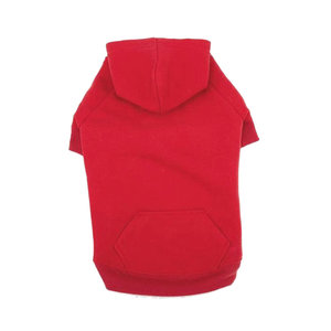 Casual Canine Basic Hoodie Red