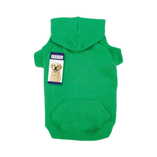 Casual Canine Basic Hoodie Green