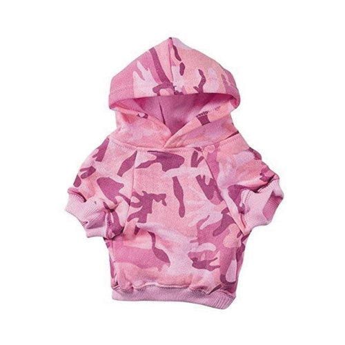 Casual Canine Basic Hoodie Camo Pink
