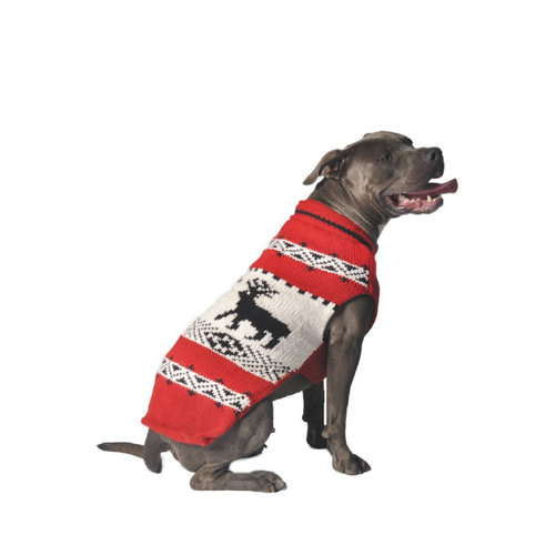 Chilly Dog Sweater Nordic Reindeer