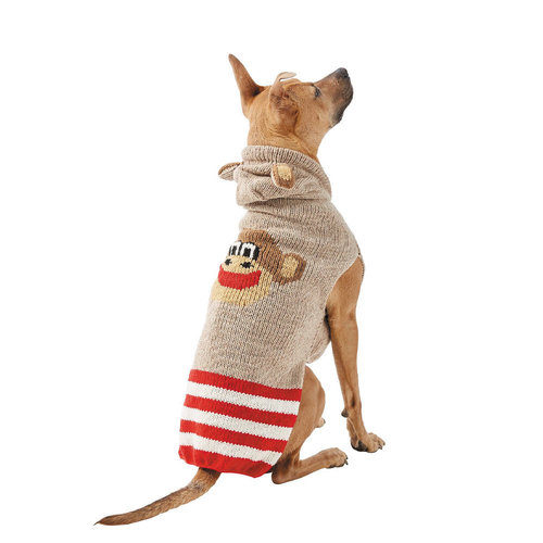 Chilly Dog Sweater Monkey Hoodie