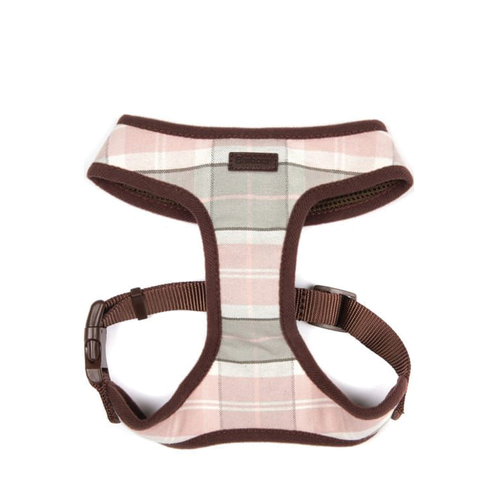 Barbour Harness Pink Tartan