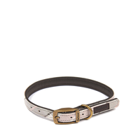 Collar Leather/Cotton Pink