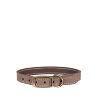 Collar Leather Brown